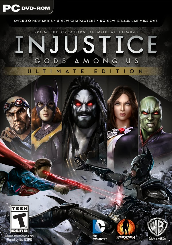 Injustice: Gods Among Us Ultimate Edition (2013) RePack