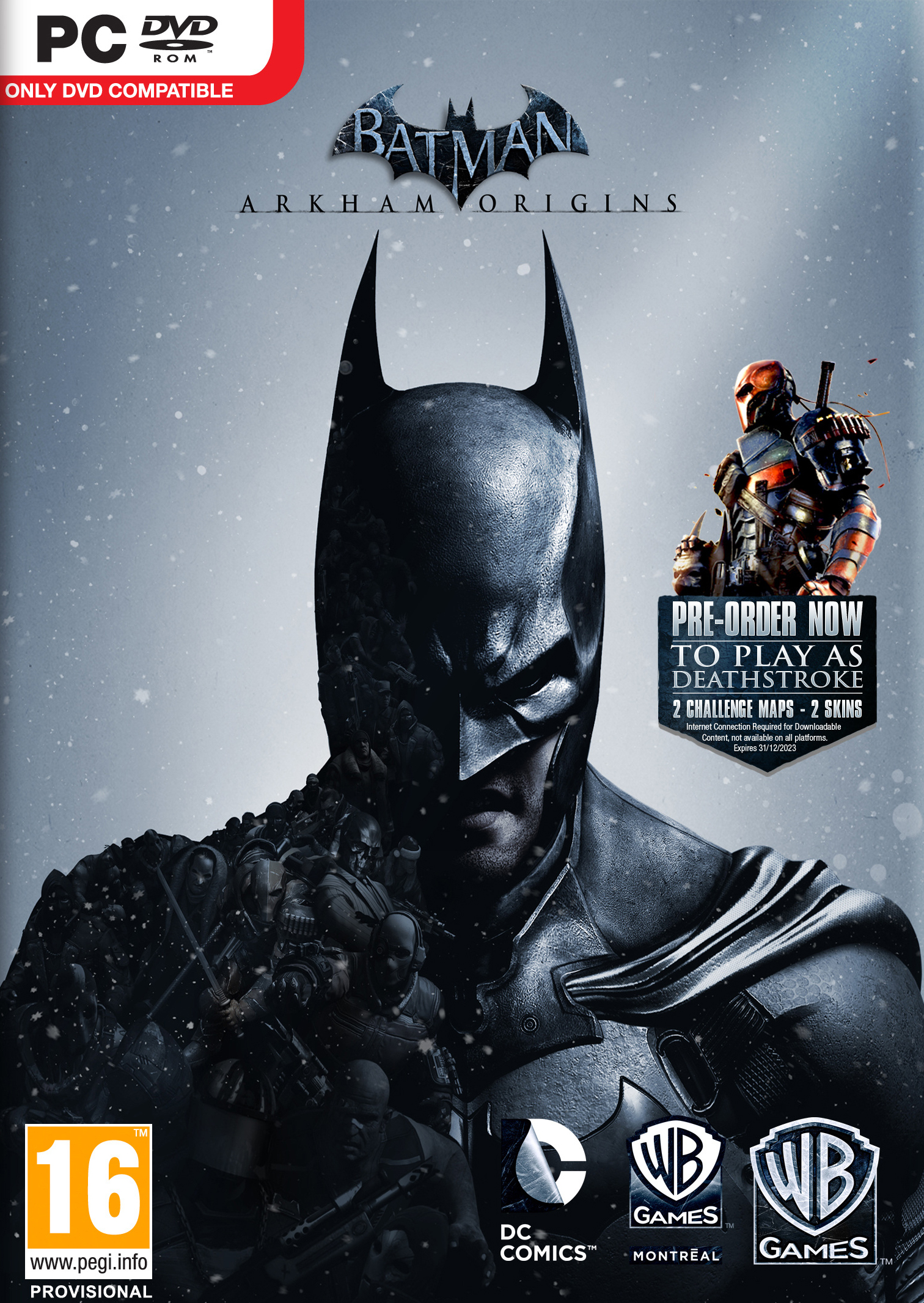 Batman Arkham Origins (2014) RIP