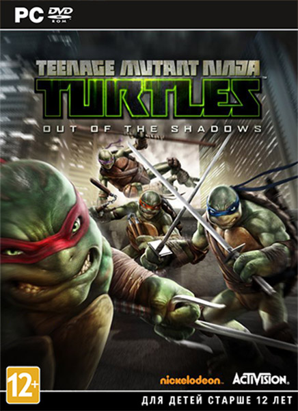 Teenage Mutant Ninja Turtles Out Of The Shadows (2013) RePack