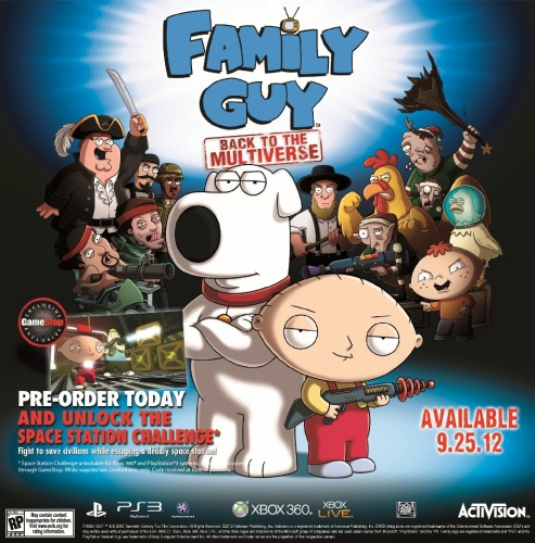 Family Guy: Back to the Multiverse (2012)