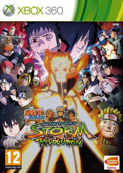 Naruto Shippuden: Ultimate Ninja Storm Revolution (XBOX360)