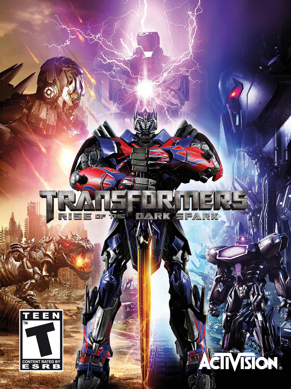 Transformers: Rise of the Dark Spark Русификатор (2014)