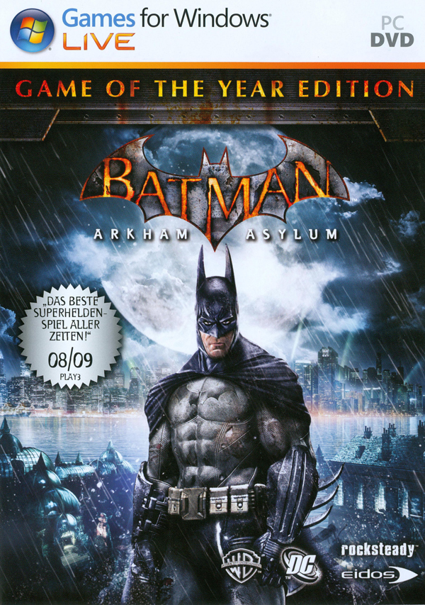 Batman: Arkham Asylum Game of the Year Edition (2010) RePack