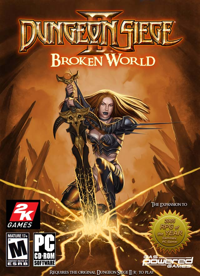 Dungeon Siege 2 (2005-2006) RePack