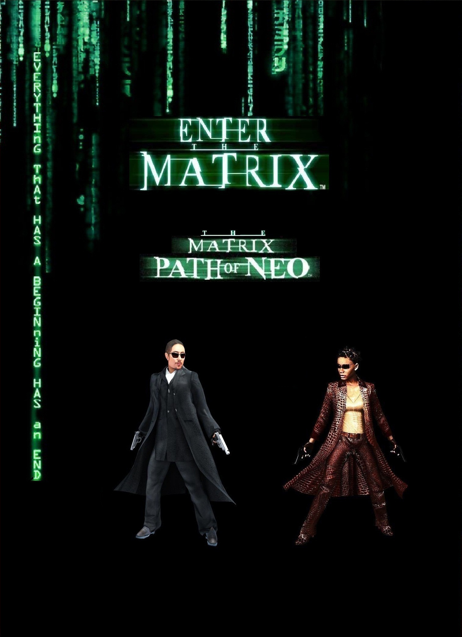 The Matrix: Dilogy (2003-2005) RePack