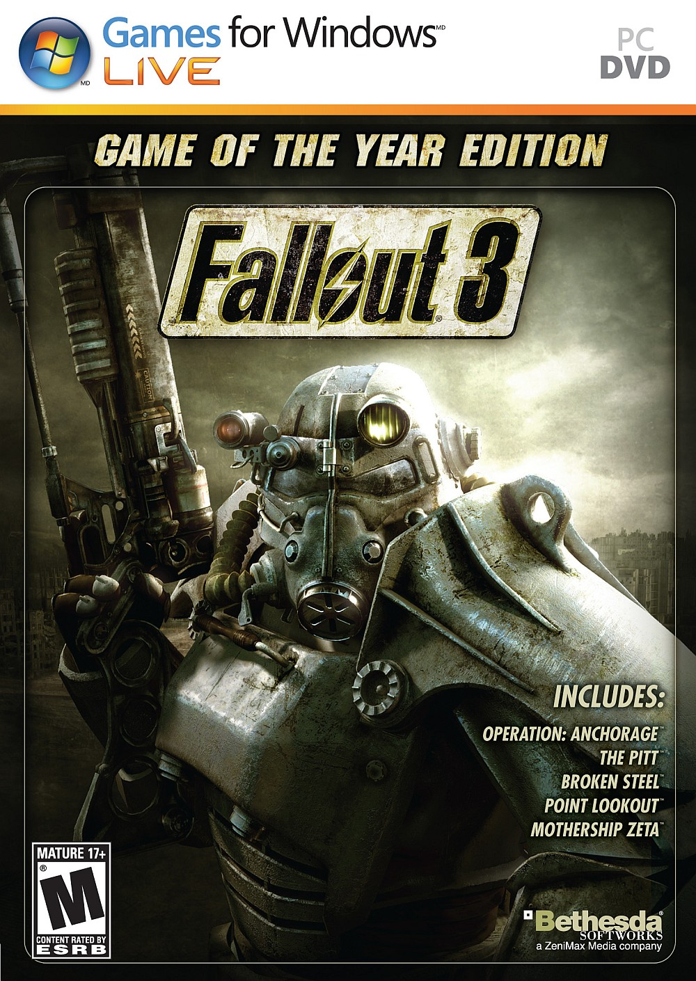 Fallout 3: Game of the Year Edition (2010)