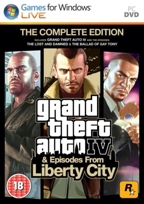 Grand Theft Auto IV The Complete Edition (2014) RePack
