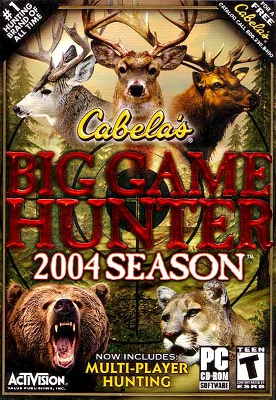 Cabela's Big Game Hunter: 2004 Season (2003)