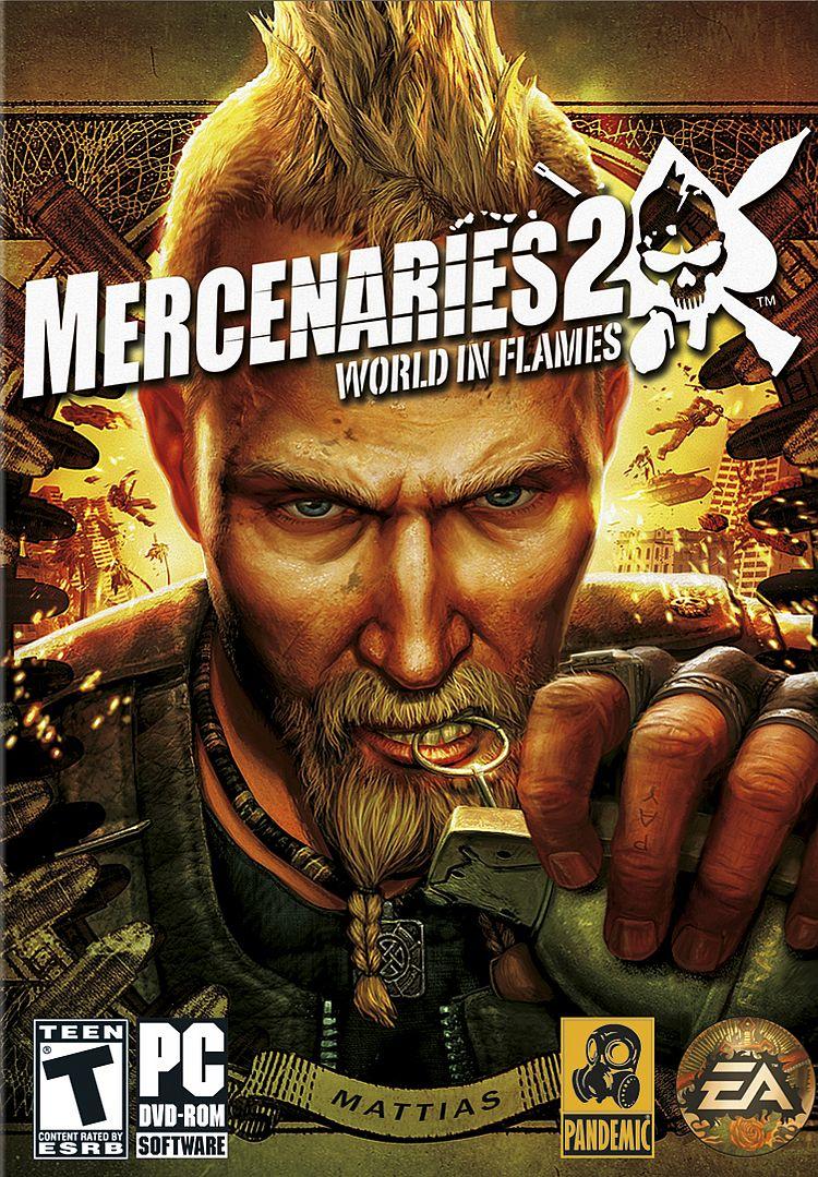 Mercenaries 2: World in Flames (2008) RePack
