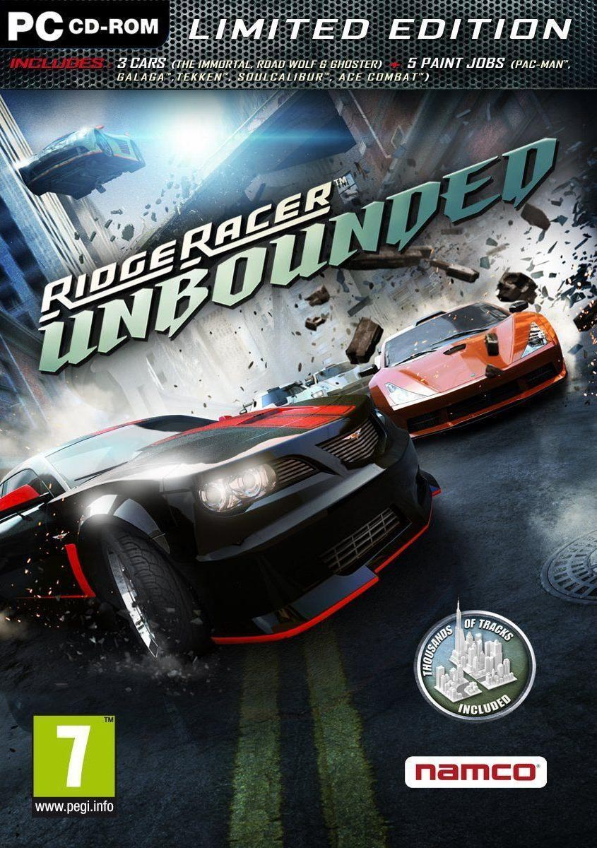 Ridge Racer Unbounded (2012) RePack
