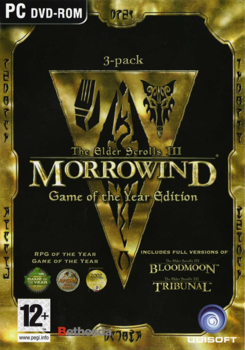 The Elder Scrolls III: Morrowind Расширенное издание (2003) RePack