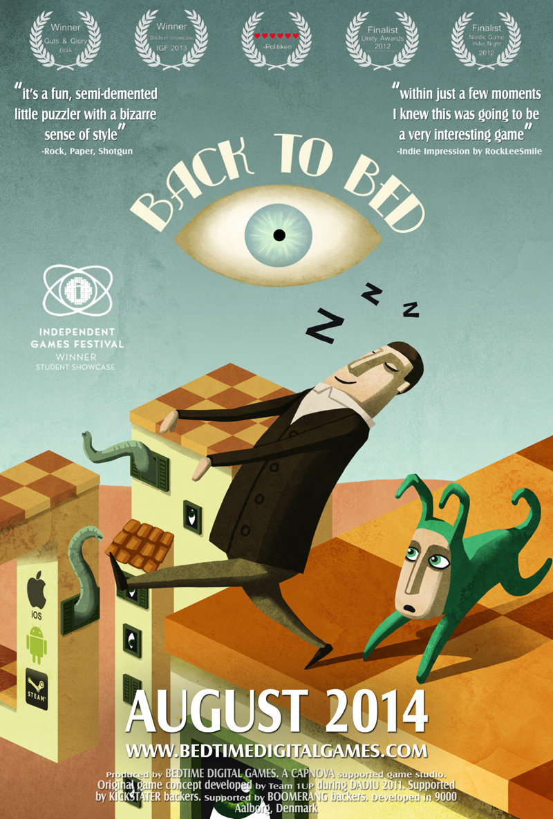 Back to Bed (2014) RePack