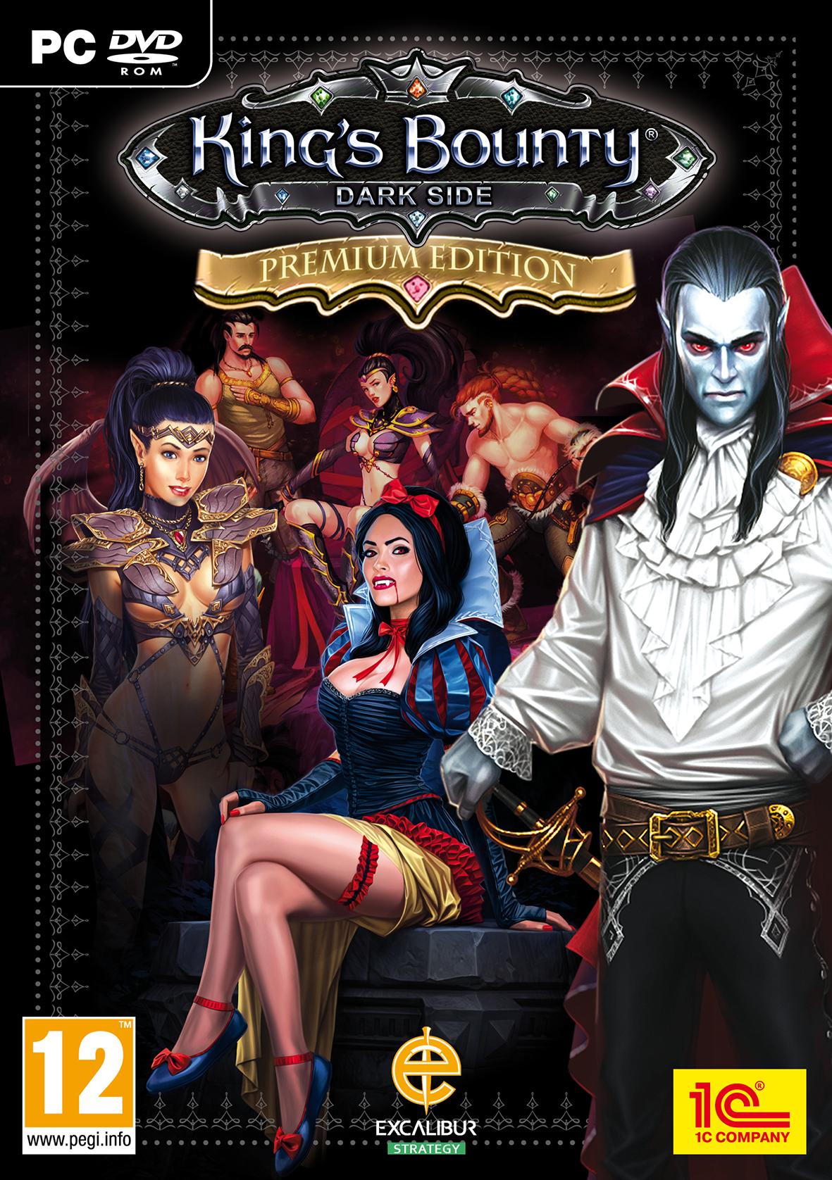 King's Bounty: Dark Side (2014) RePack