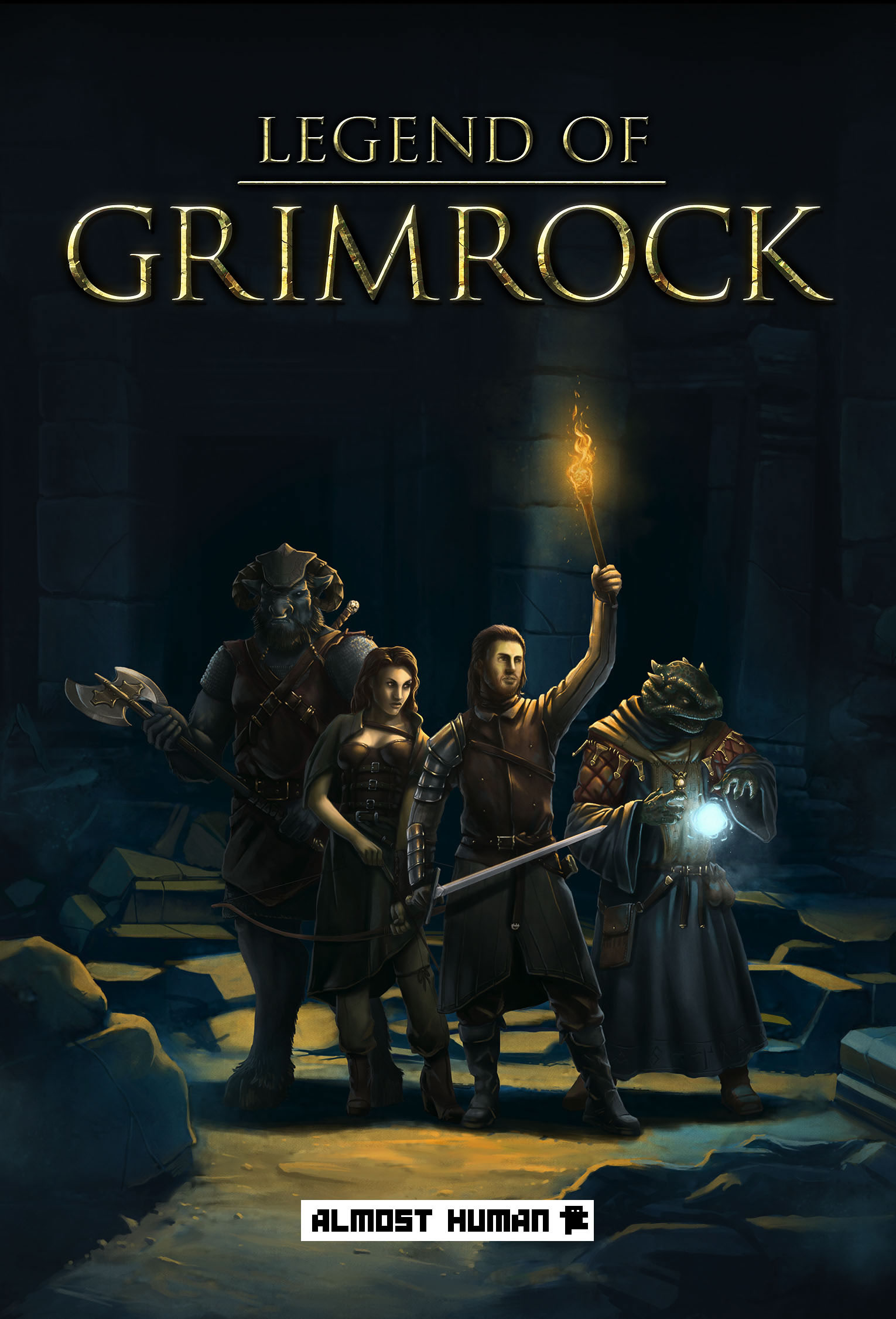 Legend Of Grimrock (2012) RePack