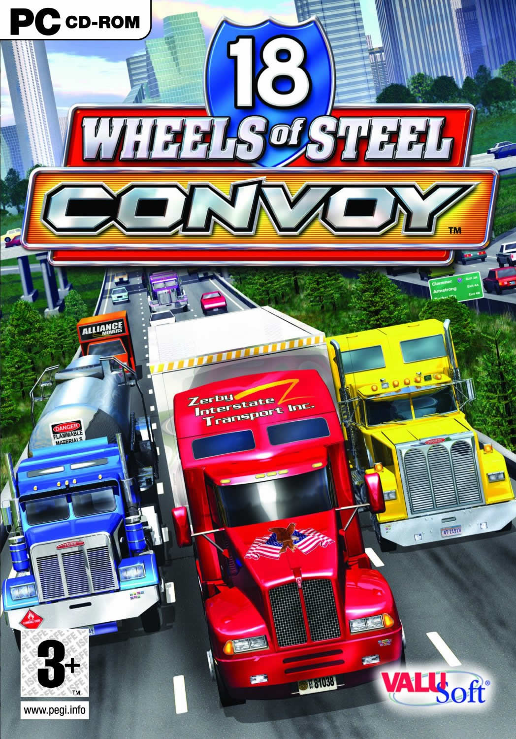 18 Wheels of Steel: Convoy (2005)