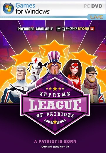 Supreme League of Patriots Full Season (2015) Пиратка