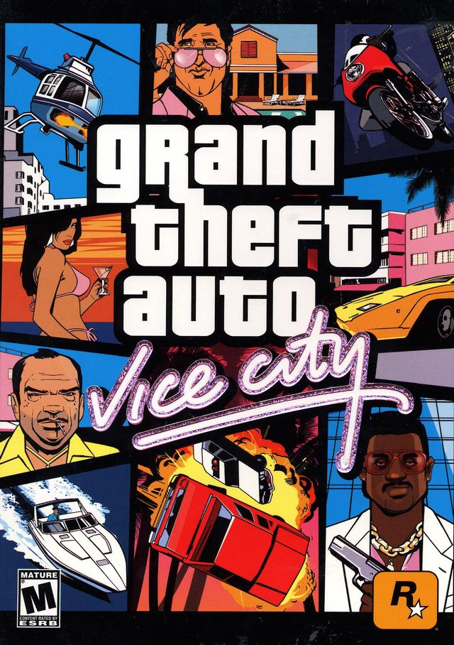 GTA / Grand Theft Auto: Vice City (2003)