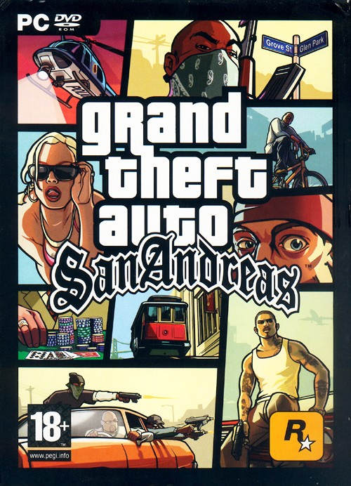 GTA / Grand Theft Auto: San Andreas (2005)