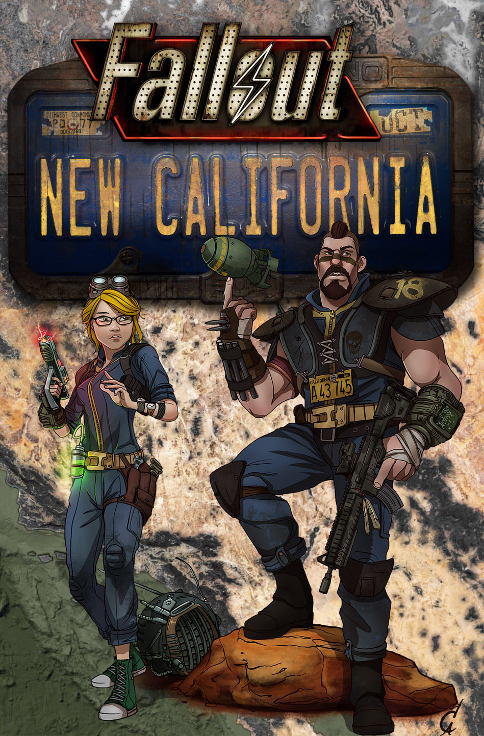 Fallout: New California (2018)
