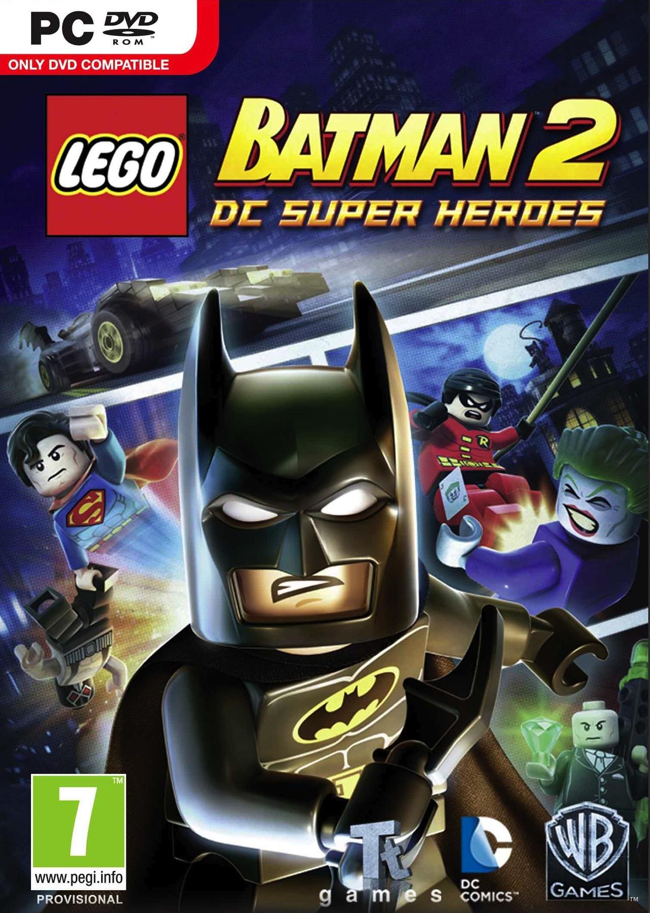 LEGO Batman 2 DC Super Heroes (2012) RePack