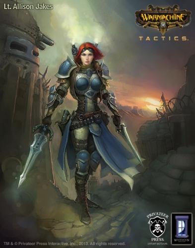 Warmachine: Tactics (2014)