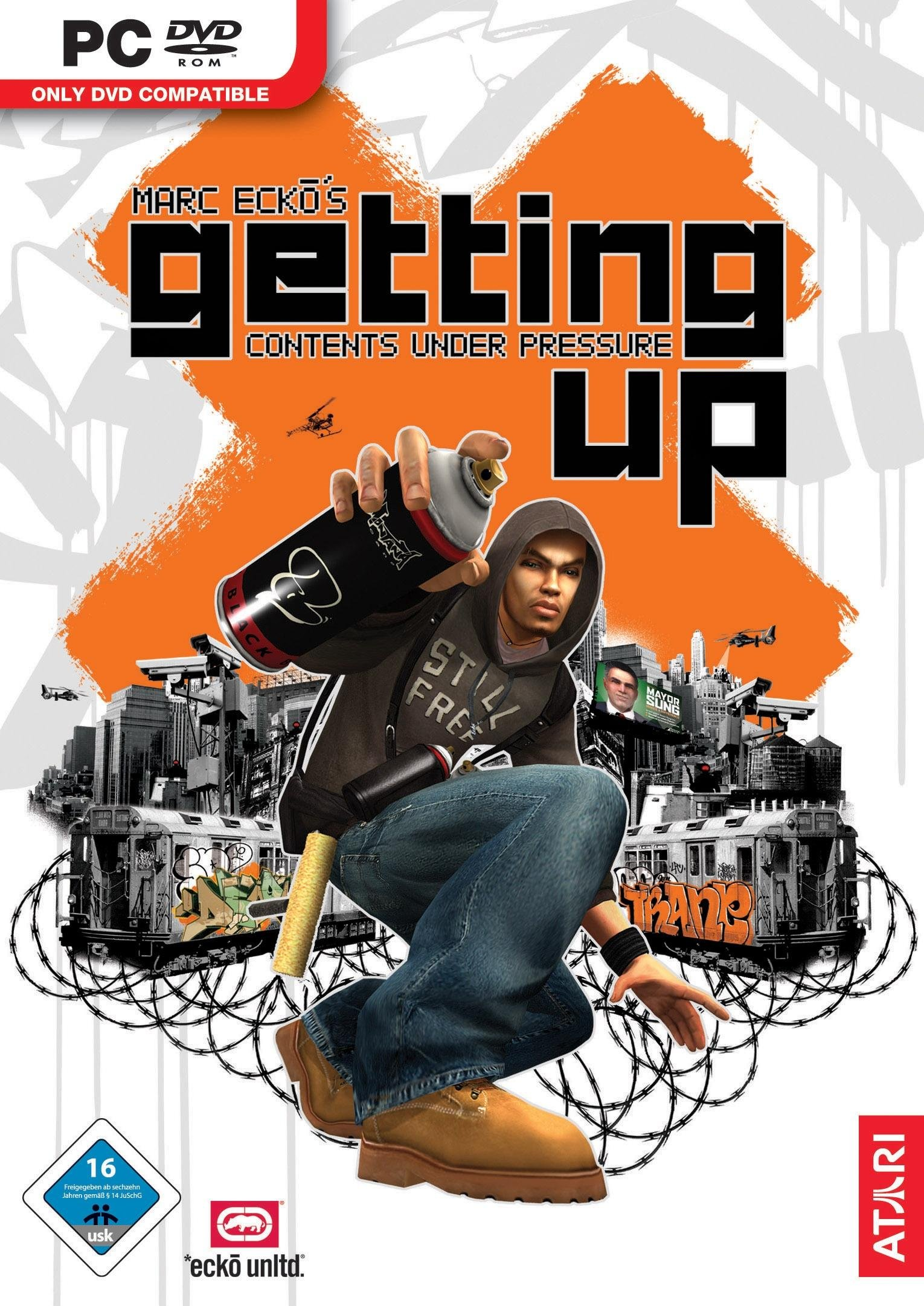 Marc Ecko's Getting Up: Contents Under Pressure (2006) RePack