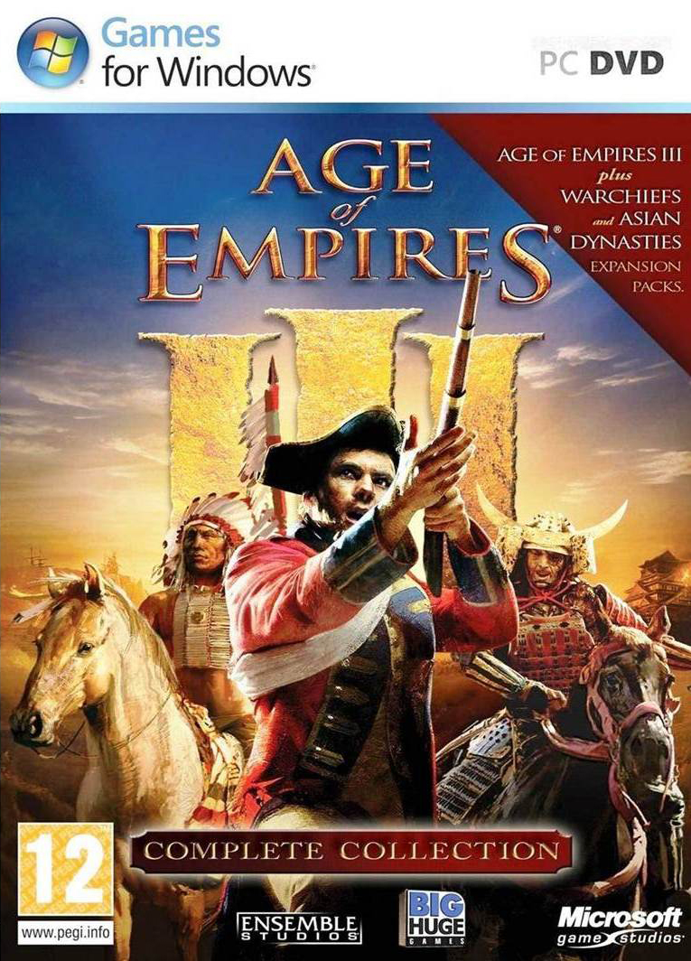Age of Empires 3 Complete Collection (2005-2007) RePack