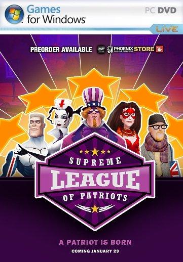 Supreme League of Patriots Full Season (2015) Пиратка