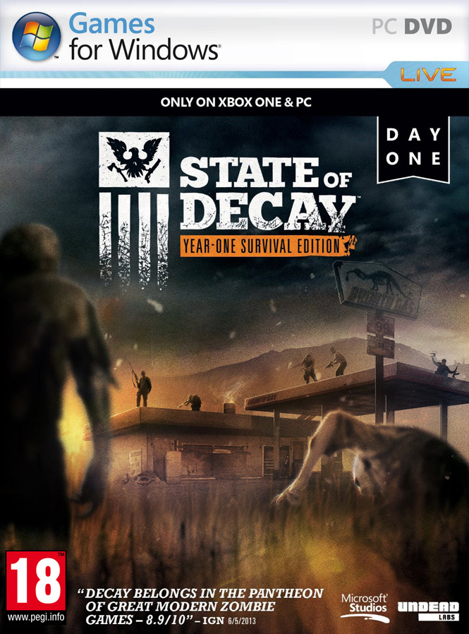 State of Decay: Year One Survival Edition (2015) RePack